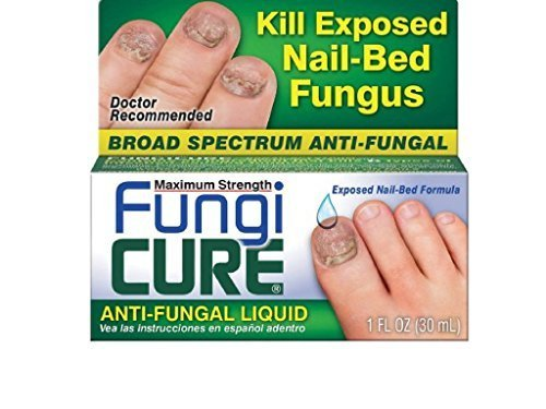 FungiCure Antifungal Liquid, extra strength, anti fungus 1 fl oz (30 ml) by FungiCure