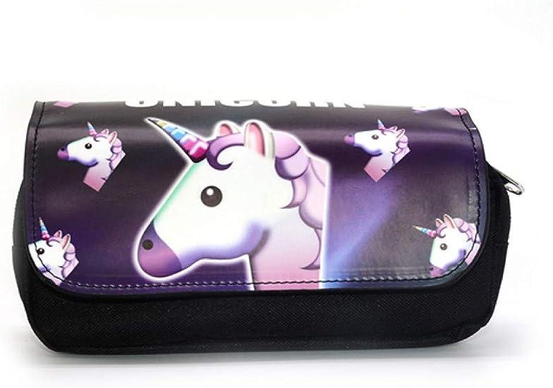Estuche De Lápices Estuche Estuche Para Lápices De La Escuela Estuches Para El Colegio Cute Unicorn Kawaii Bag,K: Amazon.es: Oficina y papelería
