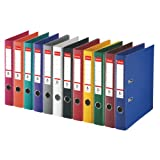 Esselte A4 50 mm Power Lever Arch File - Assorted Colour, Pack of 10