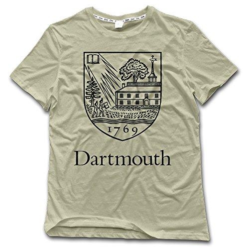 NUBIA Men's Dartmouth Vintage Tshirt Natural Size XL ()