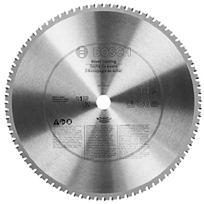 Image of Home Improvements Bosch PRO1480St 14 In. 80 Tooth Ferrous Metal Cutting Circular Saw Blade