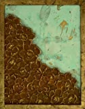 Abstract Rust and Patina Floral