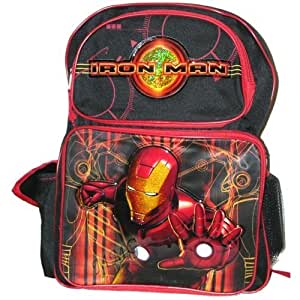 Marvel Iron Man Toddler Backpack With Water Bottle