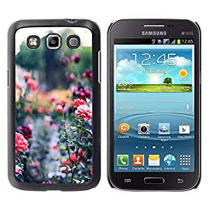Paccase / SLIM PC / Aliminium Casa Carcasa Funda Case Cover - Garden Green Royal Thorn - Samsung Galaxy Win I8550 I8552 Grand Quattro