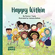Happy within: Diverse Children´s Book for kids ages 2-6 (English Edition)
