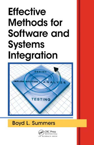 Download Effective Methods for Software and Systems Integration Pdf