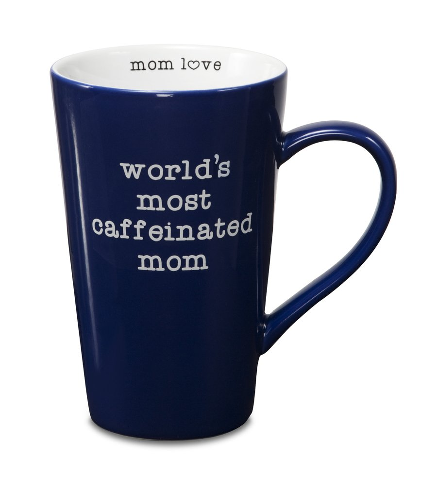 Worlds best doctor coffee mugs - Amazon Com Pavilion Gift Company 14013 Stoneware Mug World S Most Caffeinated Mom Coffee Cups Mugs