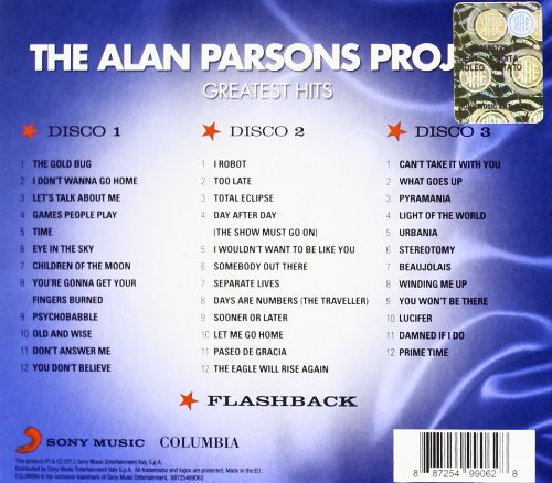 Alan parsons project most famous songs