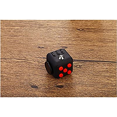 CHIRISEN Fidget Toy Relieves Stress And Anxiety for Children and Adults Anxiety Attention Toy (Black Red) by CHIRISEN