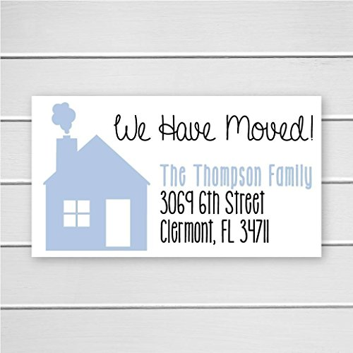 40ct return address labels we have moved address labels new home address stickers