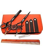 Coiffure Ciseaux de coiffure Barber Salon de coupe de cheveu Noir Vis éclaircie