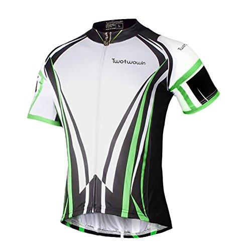 Zip Short Sleeve Cycling Jersey - 8