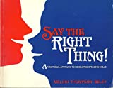 Say the Right Thing!, Meloni, C. and Beley, A., 0201102056
