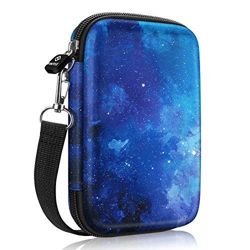 Fintie Protective Case for Fujifilm Instax Mini Link, HP Sprocket Plus, Canon Ivy Mini Photo Printer, Canon Ivy CLIQ/CLIQ+/CLIQ2/CLIQ+2 Instant Camera Printer-Hard Shockproof Carry Bag (Starry Sky)