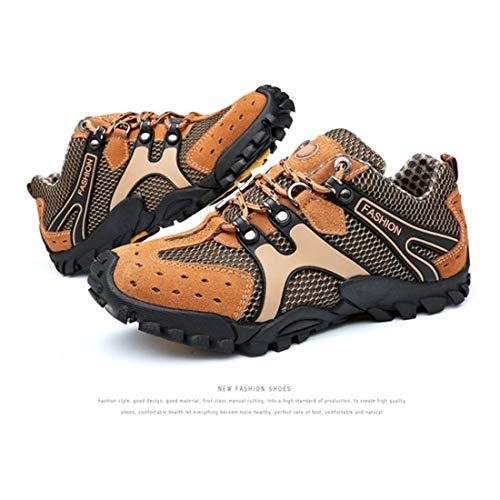 Semelle 2017 Respirant Caoutchouc En Tissu Hommes Anti Hiver Sport slip Chaussures Comfortale Maille Air Plein Randonnée Automne Montagne Zxr1qZ