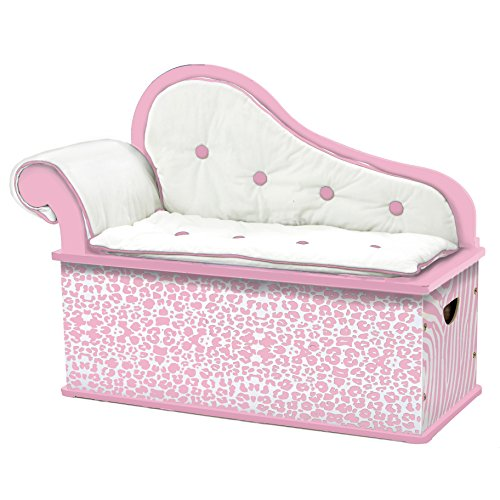 (Levels of Discovery Pink Wild Side Bench Seat with Storage)