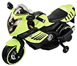 Baybee DooN DM1200 Battery Operated Bike with LED- USB- Music- FM (Green)