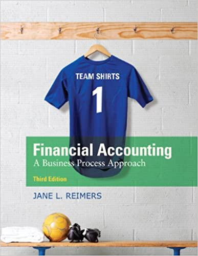reimers financial accounting 3th edition solutions manual