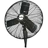 Air King 99533 Pedestal Fan, 24 3-Speed Oscillating Quiet 1/4 HP