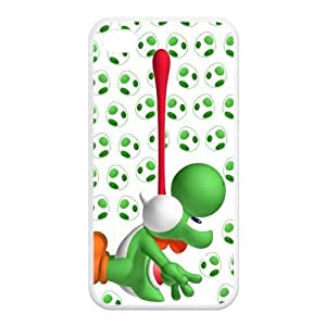 IPhone 4 4S Yoshi Case Super Mario World Yoshi Cases Covers Green Black Colorful For Apple iPhone 4/4s at NewOne