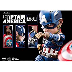 Beast Kingdom Egg Attack Action: EAA-011 Captain America