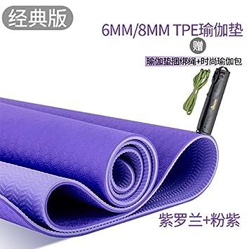YOOMAT Las importaciones genuinos de Yoga Mat Oro TPE 6 ...