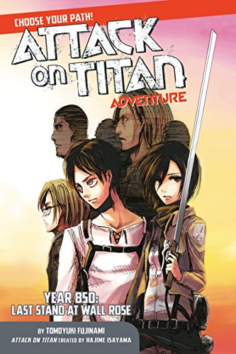 Adventure Path Set - Attack on Titan Choose Your Path Adventure: Year 850: Last Stand at Wall Rose