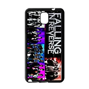 ROBIN YAM Falling In Reverse Band Samsung Galaxy Note 3 Hard TPU Rubber Coated Phone Case Cover -HRY502
