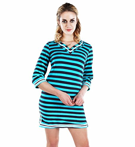 Fantasy Figure Womens So Soft Terry Cloth Cover Up Dress UPF 50