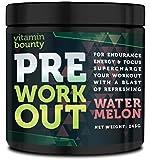 VB- PreWorkout Energy & Focus - SUPERCHARGE your workout - Watermelon Flavor - 30 Servings