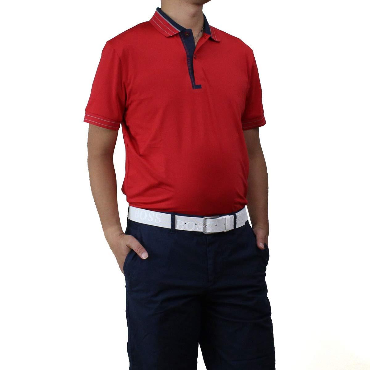 ヒューゴ ボス HUGO BOSS PADDY PRO 1 パディ プロ ポロシャツ 半袖 ゴルフウェア 50403515 10208323 622 レッド系 サイズ:#S [並行輸入品]   B07SR8TK65