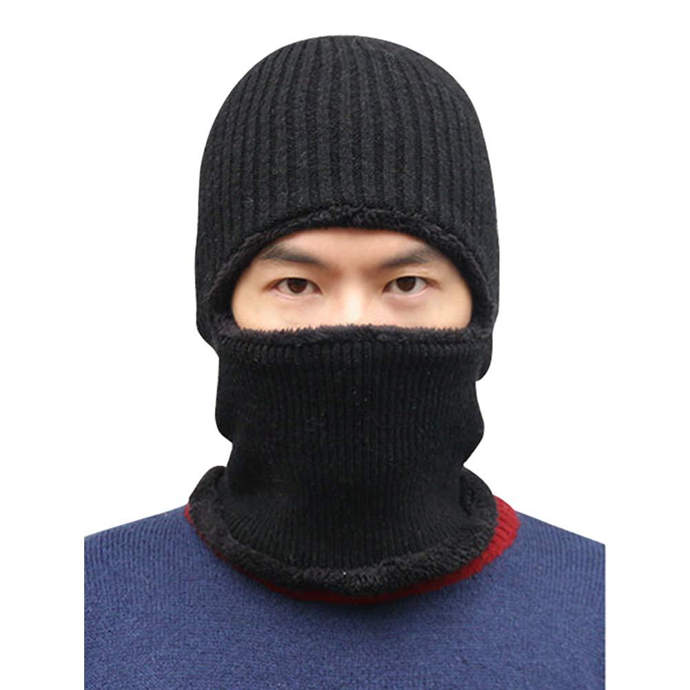 Hivexagon Windproof Motorcycle Balaclava Fleece Hood Motorcycle Ski Mask Protective Headgear Cold Resistant Cap Neck Warmer Unisex