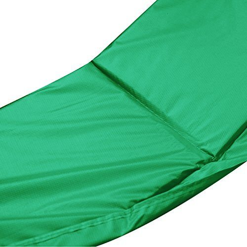 Exacme 6180-CP15G Trampoline Replacement Safety Pad Frame Spring Round Cover, Green, 15' by Exacme (Image #1)