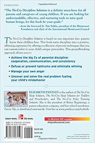 The No-Cry Discipline Solution: Gentle Ways to Encourage Good ...