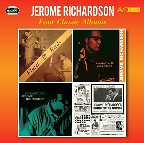 Flutes Reed - 4 Classic Albums: Flutes & Reeds / Roamin With Richardson / Midnight Oil / Going To The Movies