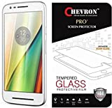 Chevron Tempered Glass Screen Protector for Motorola Moto E3 Power, Motorola Moto E (3rd Generation)