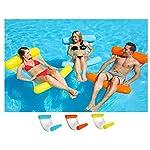 Amaca-per-acqua-piscina-lettino-gonfiabile-leggero-galleggiante-sedia-galleggiante-per-una-vacanza-in-acqua-piscina-e-spiaggia-Arancione-130cm-x-70cm