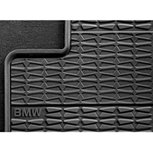 bmw 51 47 2 164 763 all weather rubber floor mats front anthracite set of 2. Black Bedroom Furniture Sets. Home Design Ideas