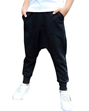LaoZan Niño Pantalones Chándal Pantalón De Deporte Pantalones ...