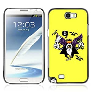 Designer Depo Hard Protection Case for Samsung Galaxy Note 2 N7100 / Abstract Art