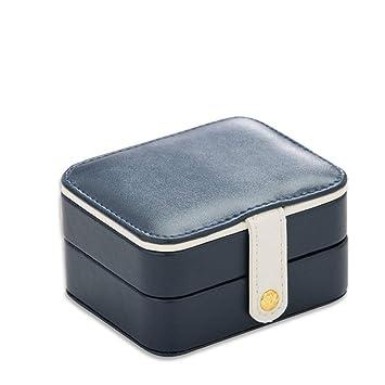 Pequeño Fashion caja de joyas, gossipboy joyas cajas de almacenamiento portátil de viaje caja de ...