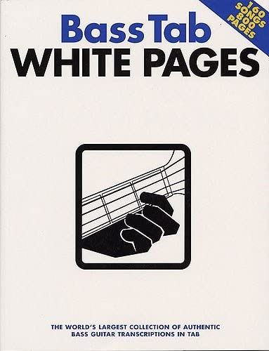 Bass Tab White Pages. Partituras para Guitarra Bajo(Símbolos de ...