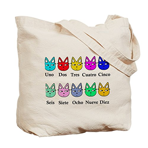 Shopping Bag Canvas Natural Bag Counting CafePress Spanish Cloth Tote W0wqzWRfP