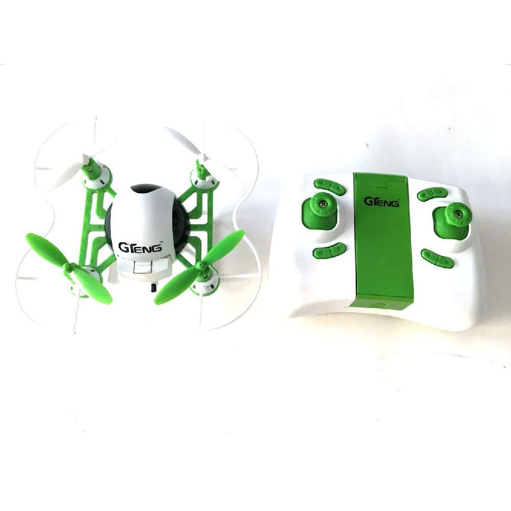 TONGTONG Mini Control Remoto Drone Modo sin Cabeza teléfono WiFi HD Antena en Tiempo Real transmisión de Imagen vídeo pequeño Cuatro Ejes Fijo Alto móvil