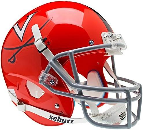 Virginia Cavaliers Orange Stripe Officially Licensed Full Size XP Replica Football Helmet