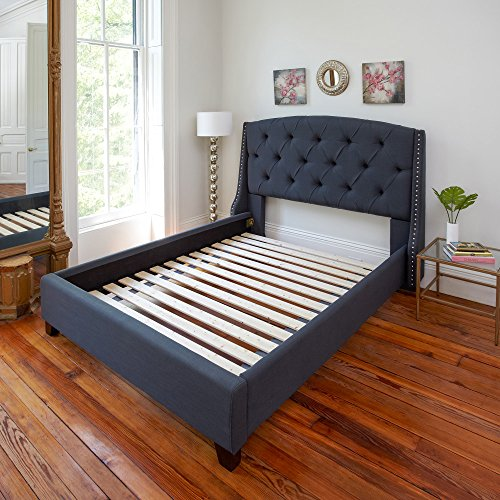 Classic Brands Heavy Duty Attached Solid Wood Bed Support Slats, 60