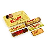 RAW Rolling Tray Kit - King Size + Tray + Hydrostone + Roller + Paper Tips
