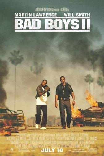 - BAD BOYS II MOVIE POSTER 1 Sided ORIGINAL 27x40 WILL SMITH