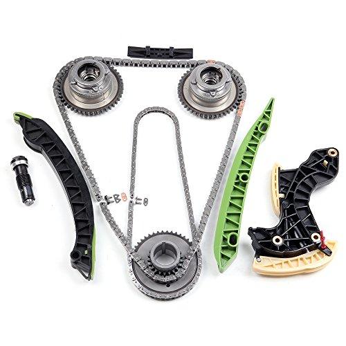 ECCPP A2710501500 Timing Chain Kits Fits Timing Chain engin 2012 2013 2014 Mercedes-Benz SLK250 2012 2013 2014 Mercedes-Benz C250 (Benz Timing Mercedes Chain)