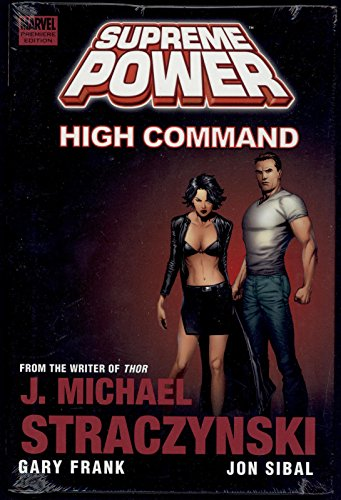 Supreme Power High Command New Hardcover HC TPB Graphic Novel Marvel Comics